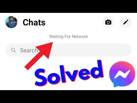 Fix Facebook Messenger-Waiting For Network Error In Android|Tablet