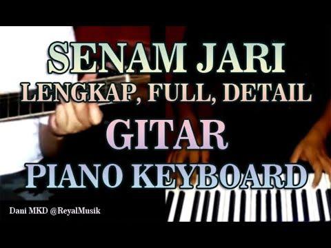 SENAM JARI GITAR & PIANO - Belajar Fingering Dasar Lengkap Detail