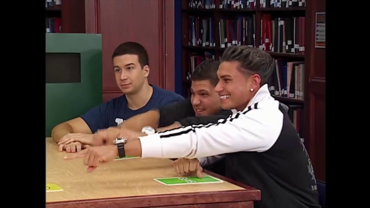 Download Jersey Shore Takes on the Silent Library   MTV Vault