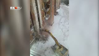 Снос шестиэтажки на Чапаева