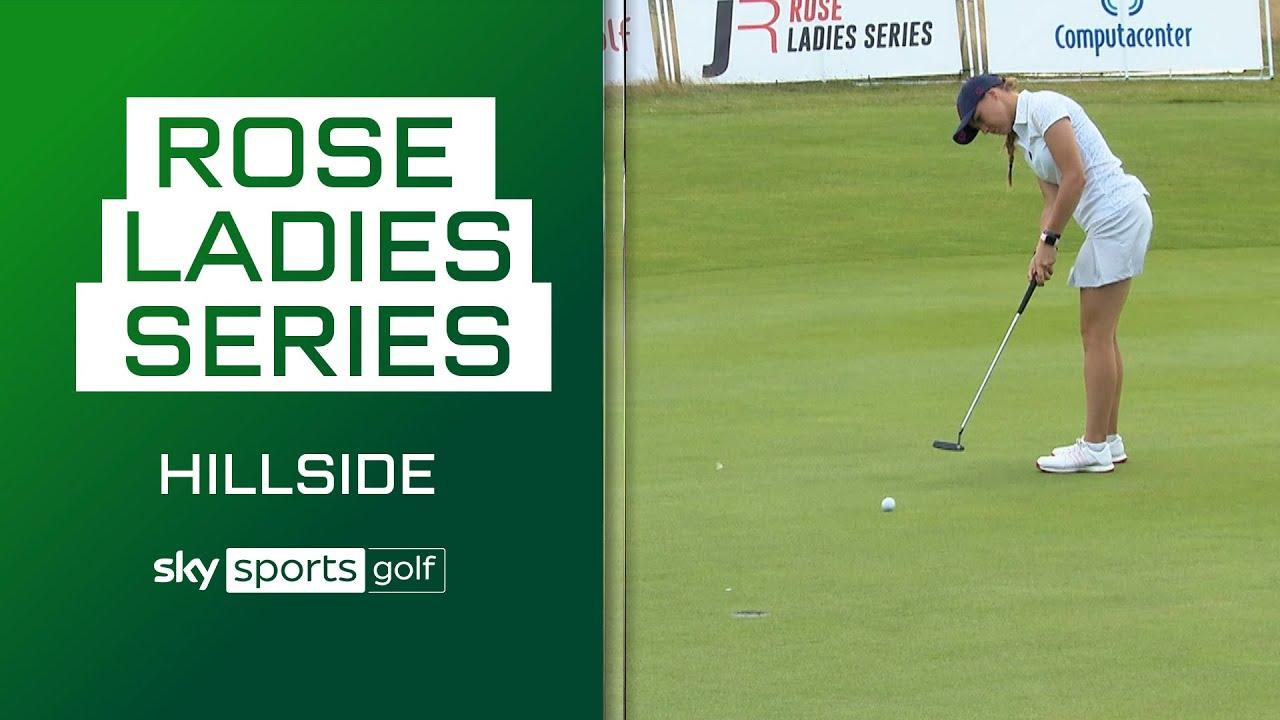 Clews claims first Rose Ladies victory! 🏌️♀️ | Rose Ladies Series | Hillside