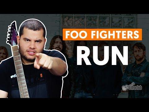 RUN - Foo Fighters (aula de guitarra)