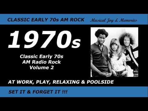 Classic Early 1970s AM Radio Rock - Volume 2