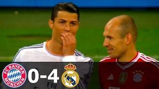 бавария Мюнхен  Реал Мадрид 0-4 - Обзор Матча 29/04/2014 HD