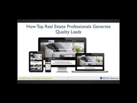RETechnology.com: How Top Real Estate Professionals Generate