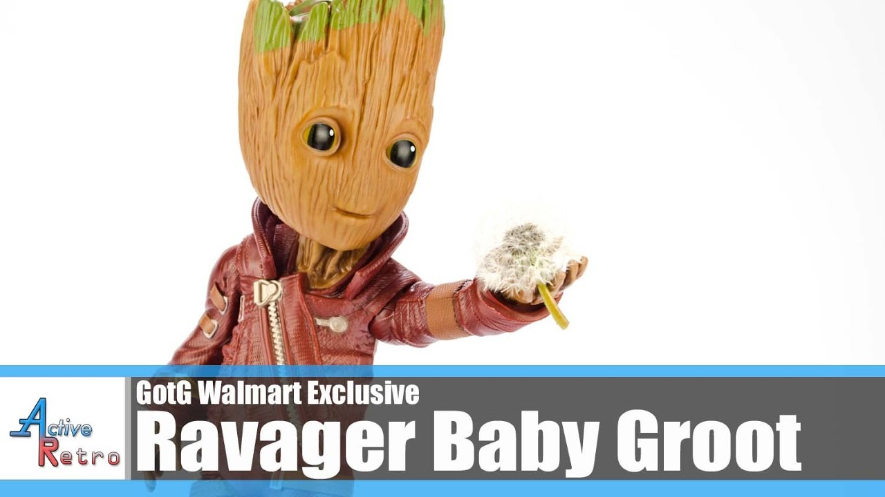 """Guardians of the Galaxy Vol.2 Baby Groot 10/"""" Figure Ravager Outfit Exclusive"""