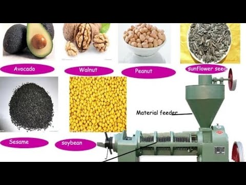 VEGETABLE OIL PROCESSING MACHINE { COLD PRESSED OIL }