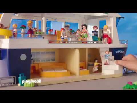 pub playmobil le bateau de croisi re youtube. Black Bedroom Furniture Sets. Home Design Ideas