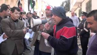 Syrian Community In Malta Protests Outside Chinese Embassy