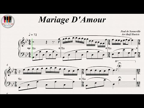 Mariage D'Amour - Richard Clayderman, Piano