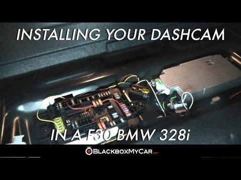 How To Install Dashcam On F30 BMW 328i - BlackboxMyCar.com