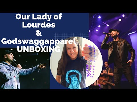 Our Lady of Lourdes Feast Day Unboxing from Godswaggapparel and Announcement!
