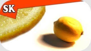 CANDIED LEMONS or SUGARED LEMONS  RECIPE - Delicious Candy or Decoration for any Cake