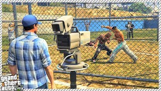 GTA 5 -  FRANKLIN JOINS UFC CAGE FIGHT TOURNAMENT