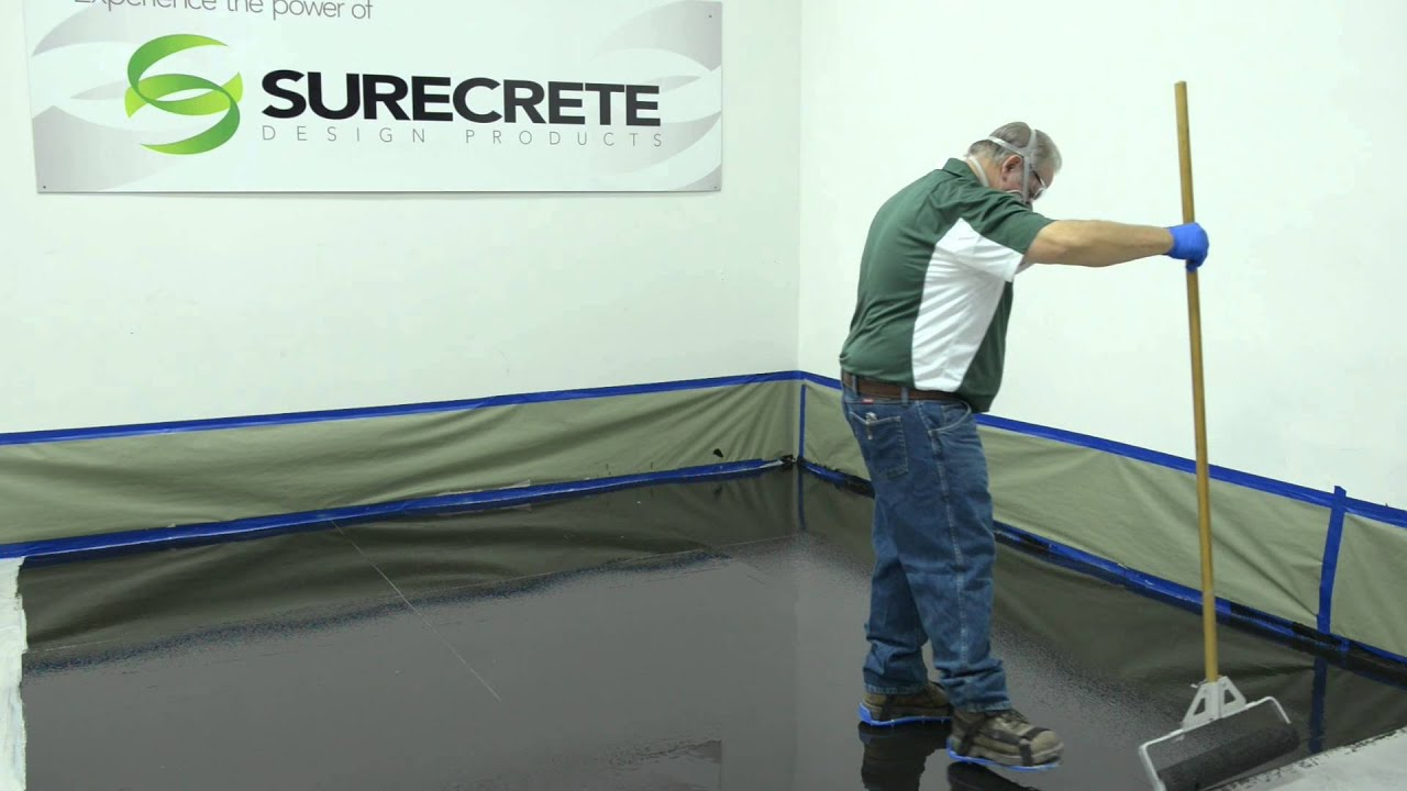 How To Make A 3d Metallic Floor System By Surecrete