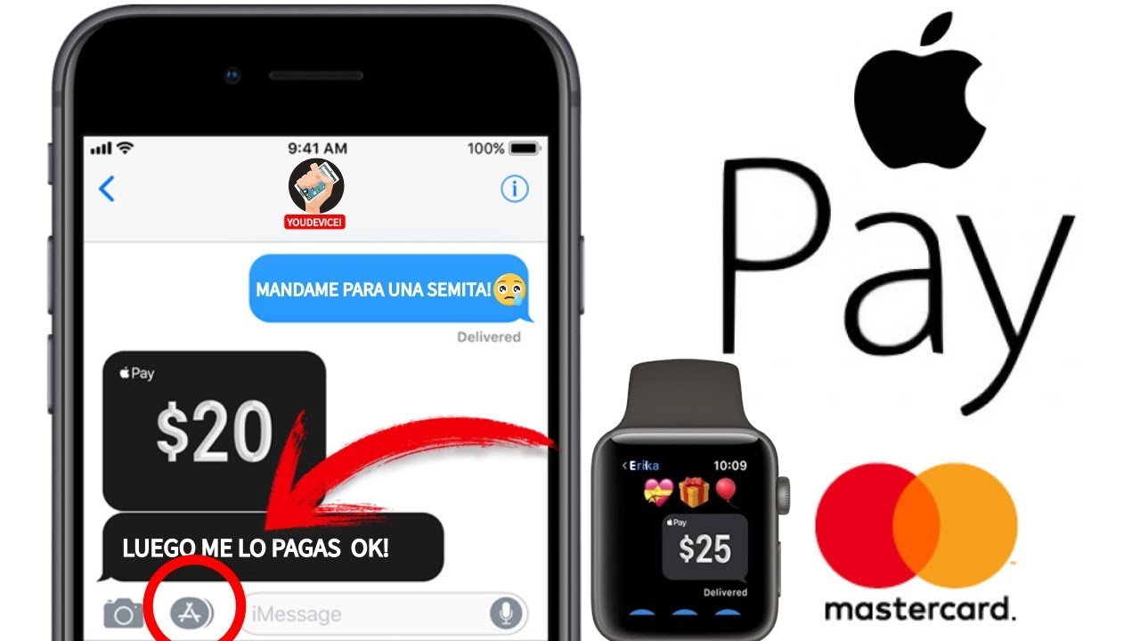 Apple Pay : Cómo configurar tu iPhone 7/8/X o 7 Plus    Apple Pay : How To  SetUp on Your iPhone