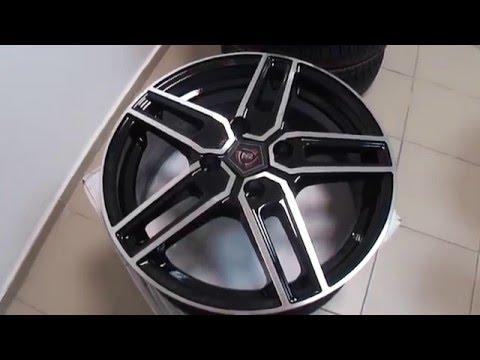 Литые диски NZ R15 на Hyundai Accent, Solaris, Getz, Kia Rio и др.