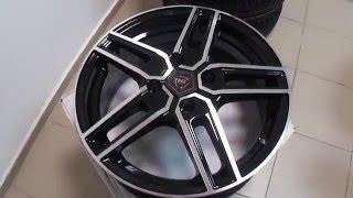 Литые диски NZ R15 на Hyundai Accent, Solaris, Getz, Kia Rio и др. смотреть