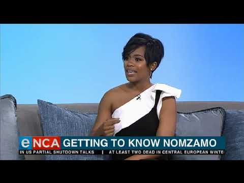 Getting to know Nomzamo Mbatha
