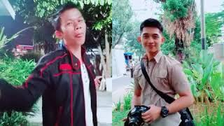 Kumpulan tik tok duet maut polisi ganteng dan pemuda bengkulu