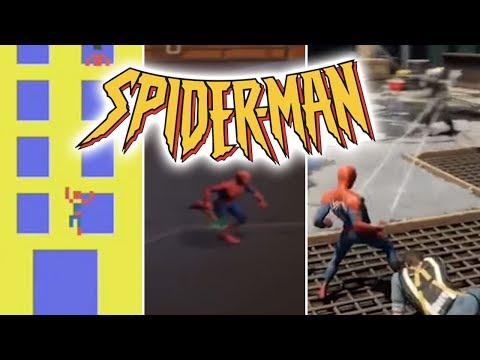 SPIDER-MAN Oyunlarının Tarihi ve Bilinmeyenleri (1982 - 2018)