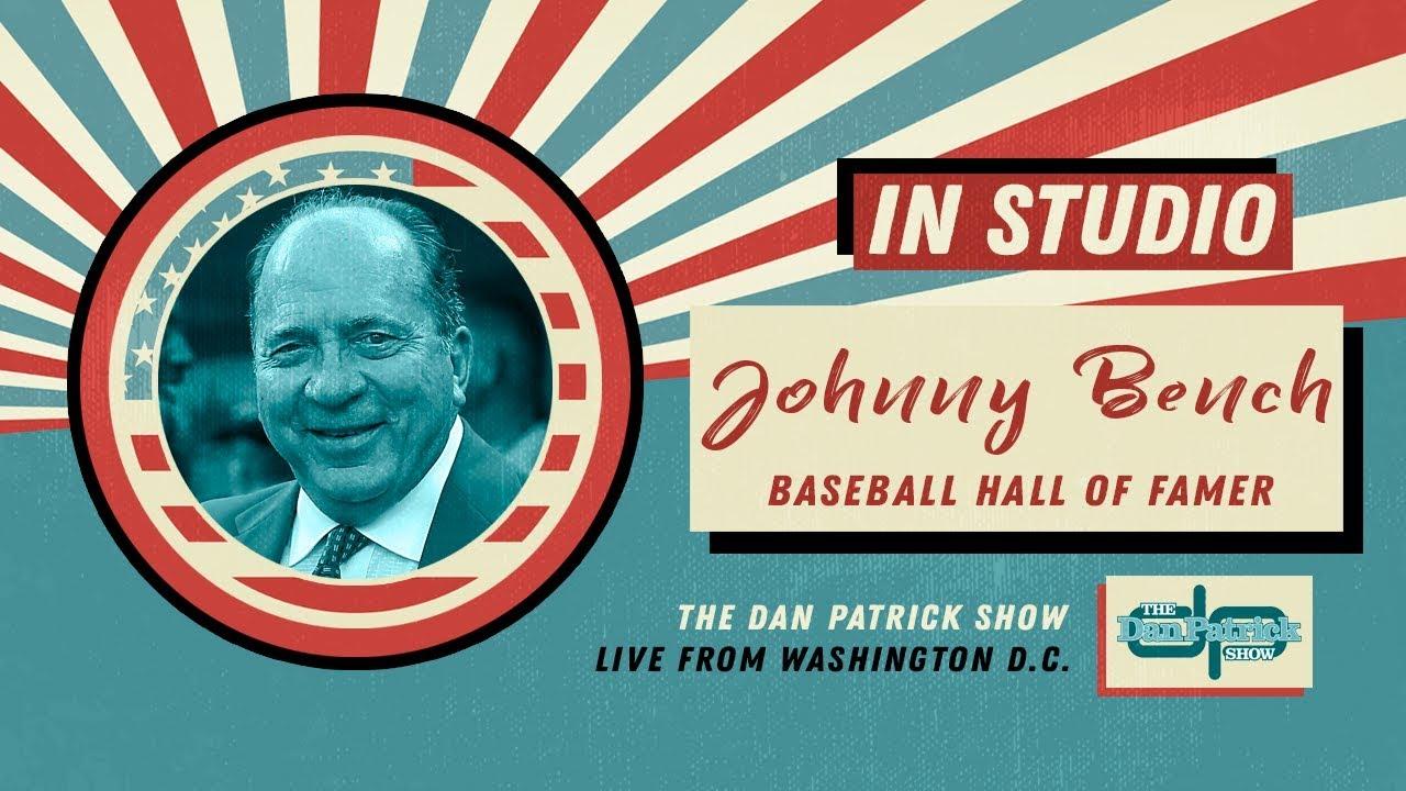 Reds Hall Of Famer Johnny Bench Talks Pete Rose, Mantle, Aaron U0026 More W/Dan  Patrick | Full Interview