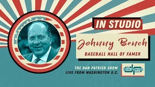 Reds Hall of Famer Johnny Bench Talks Pete Rose, Mantle, Aaron & More w/Dan Patrick | Full Interview