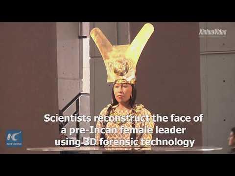 Peru unveils face of ancient female ruler