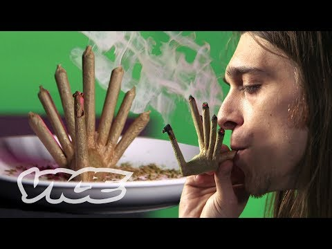 Rolling a Fully Smokeable Turkey-Shaped Joint