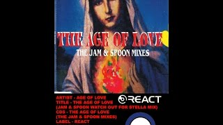 (((IEMN))) Age Of Love - The Age Of Love (Jam & Spoon Watch Out For Stella Mix) React 1992 - Trance