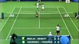 Federer & Mirka vs Hewitt & Molik part 7