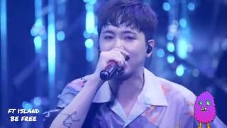 Cover images FT ISLAND _ BE FREE