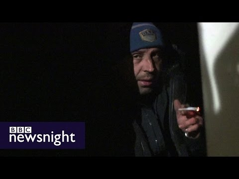 Homeless and hungry: Ben Judah on the dark side of London - BBC Newsnight