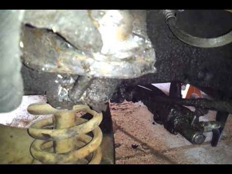 1957 chevy bel air upper/lower ball joint  removal
