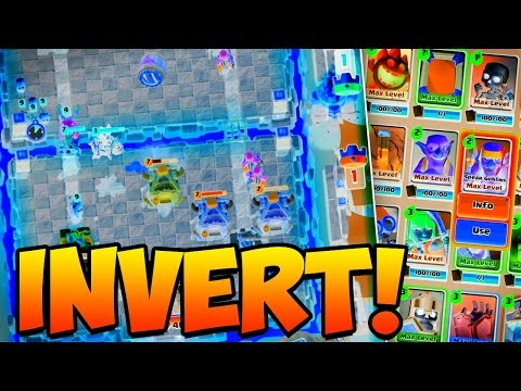 Clash Royale with INVERTED colors!