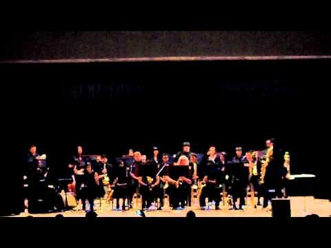 Summit High School Jazz Band doing