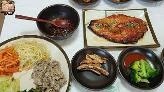 원주행구동에 있는 맛있는 황골 보리밥