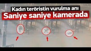 Terörist Elif Sultan Kalsen'in vurulma anı