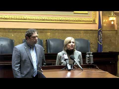 Utah Legislative Democrats Media Briefing - Budget and Immigration