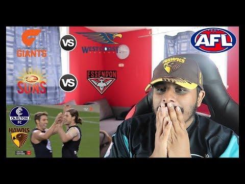 Reaction to #AFL: Carlton Blues v Hawthorn & More