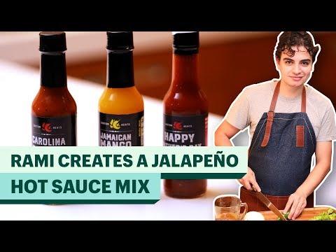 How To Make Jalapeño Habanero Hot Sauce