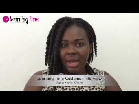 Learning Time Customer Interview: Agnes Koufie, Ghana