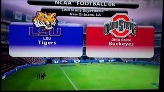 NCAA Football 08 - National Championship Game