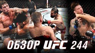 ОБЗОР UFC 244 | ВСЕ БОИ | Нейт Диаз, Хорхе Масвидаль, Келвин Гастелум, Даррен Тилл, Стивен Томпсон