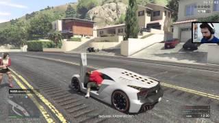 GTA V Online - Własna mapa, pościg autostradowy, TEST! /22.04.15 #6