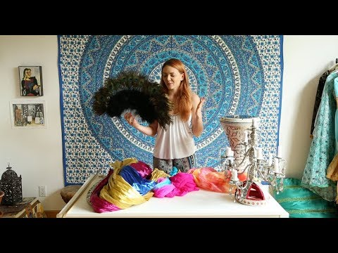 Belly Dance Props | Learn How to Belly Dance