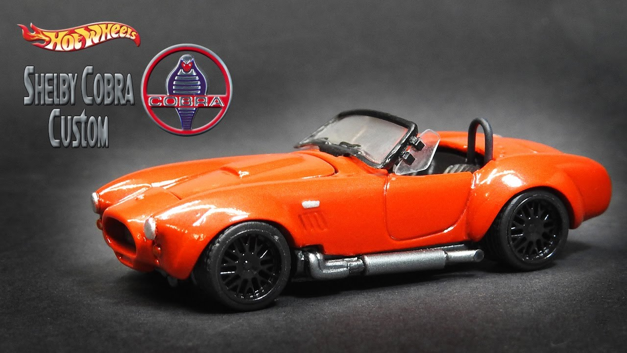 Hot Wheels Custom Shelby Cobra