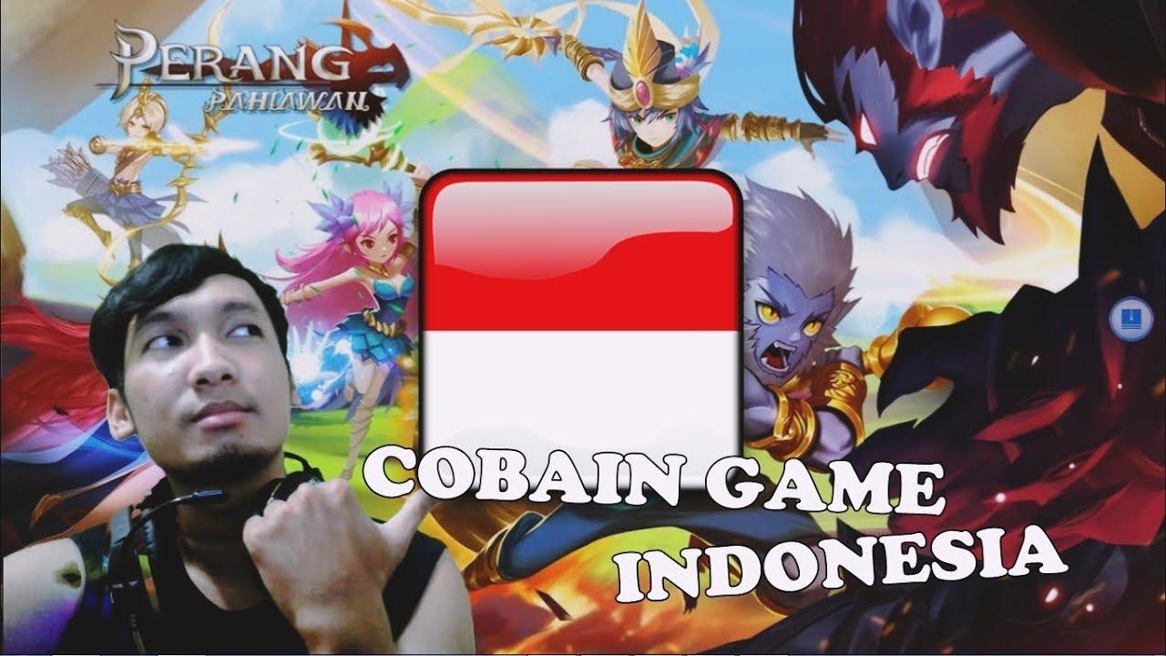 MANTAP !!! GAME BARU BUATAN INDONESIA | PERANG PAHLAWAN ...