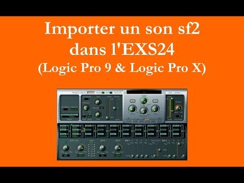 Importer un son sf2 dans l'EXS24 Logic Pro 9 & Logic Pro X