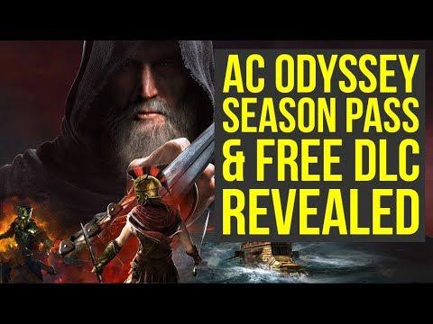 Assassin's Creed Odyssey DLC Revealed - Atlantis, Huge Boss Fights & More!  (AC Odyssey DLC)
